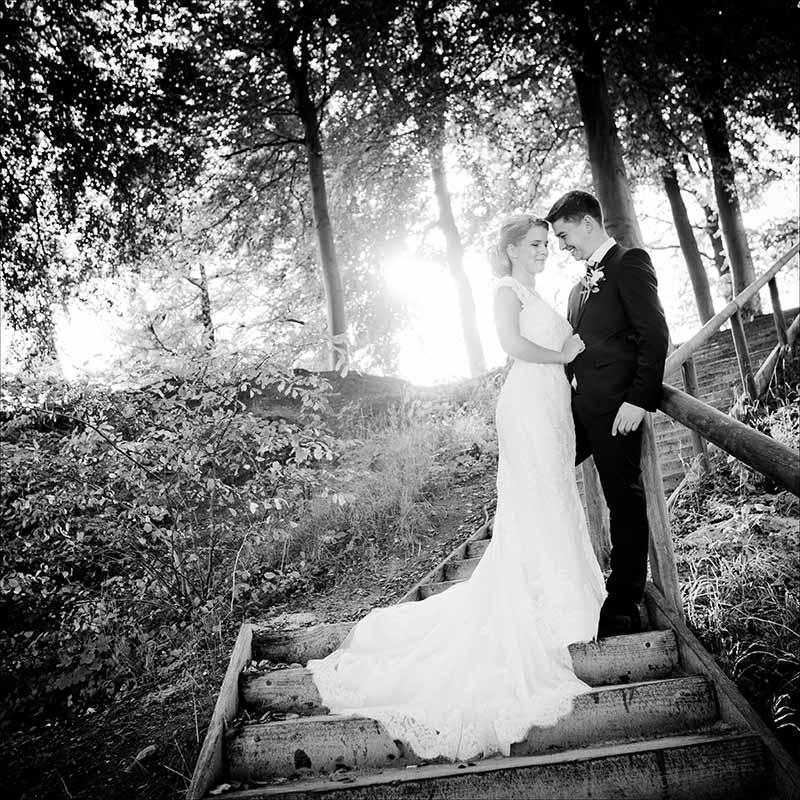 bryllupsbilleder ved Fredericia