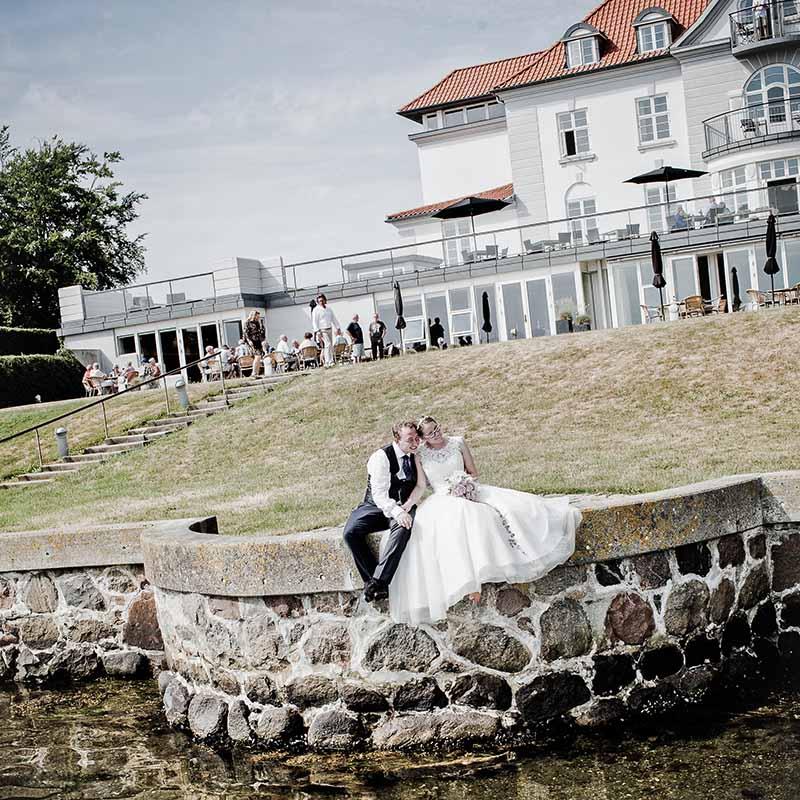 bryllupsfoto Koldingfjord