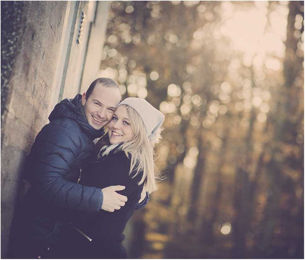 portrætfoto til bryllup
