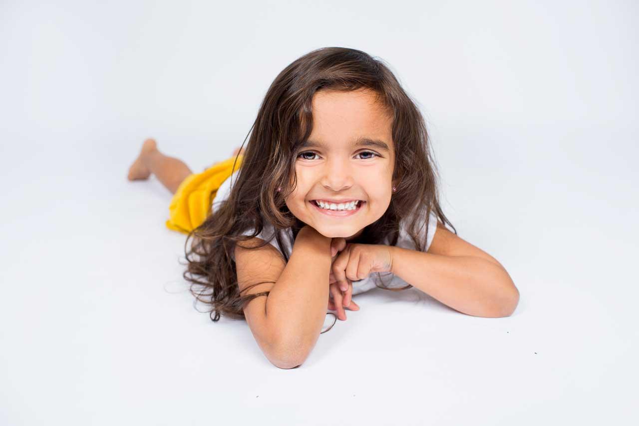 Børnefoto. Det er glimtet der er afgørende