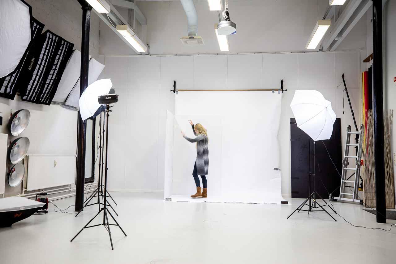 Jobbet, som fotograf er alsidigt