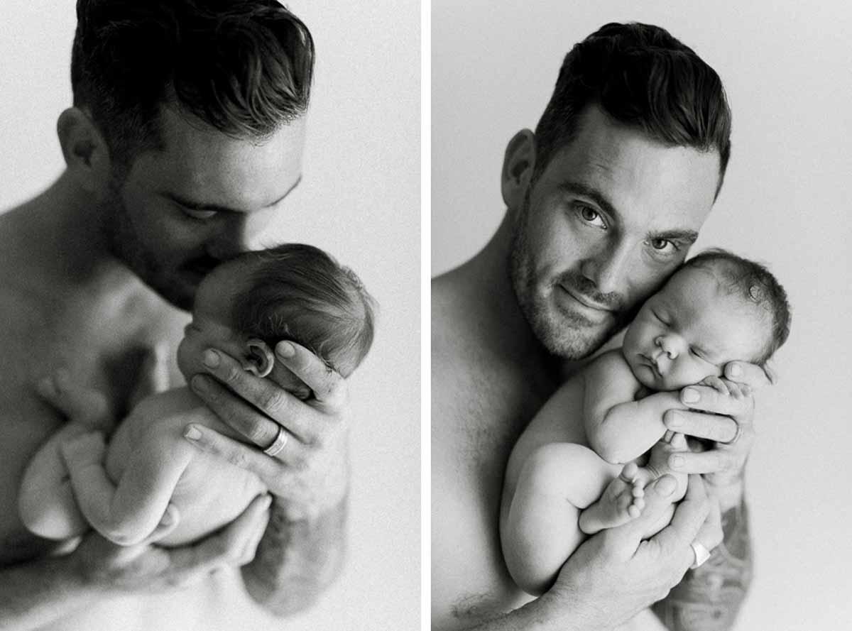 Flere billeder af nyfødt fotografering