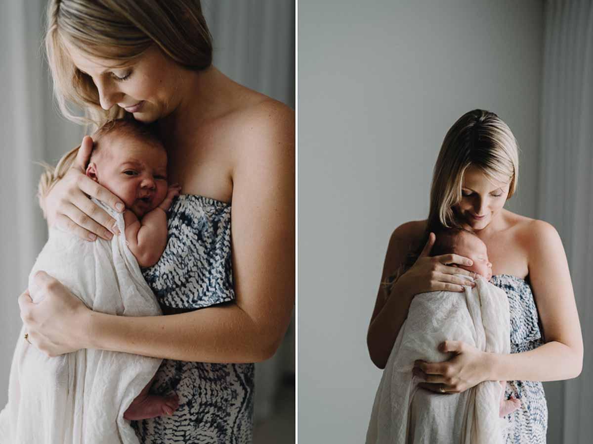 Billeder af nyfødt fotografering