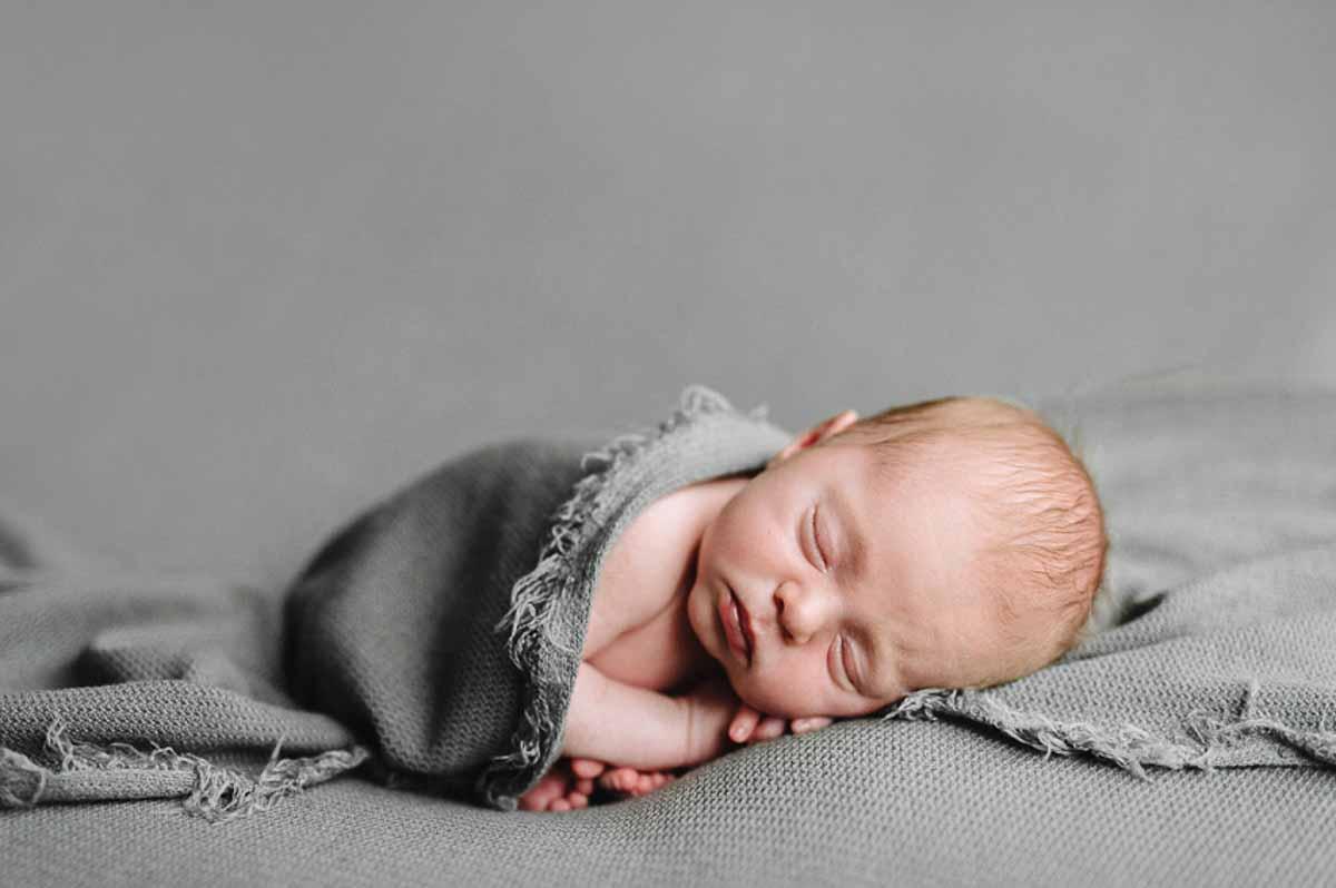 En newborn fotografering